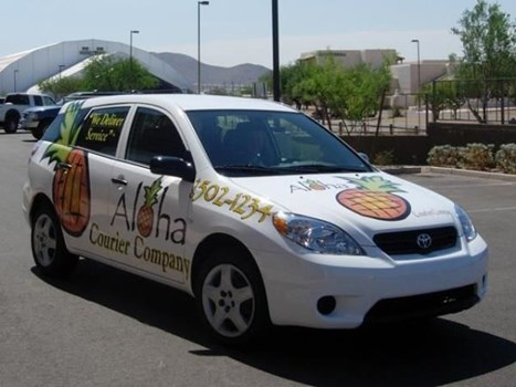 PART115 - Custom Partial Wrap for Restaurant