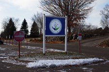 Di-Bond post and panel sign for Discovery Charter School in Inver Grove Heights, MN